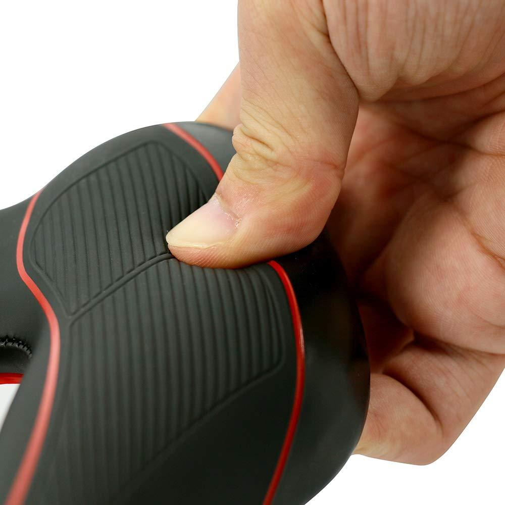 Comfortable Breathable Bicycle Saddle for Mountain Bike Road Bike MTB Black DRBIKE Bike Seat