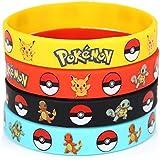 Oliasports Pokémon Rubber Bracelets Wristband (12 Pieces)