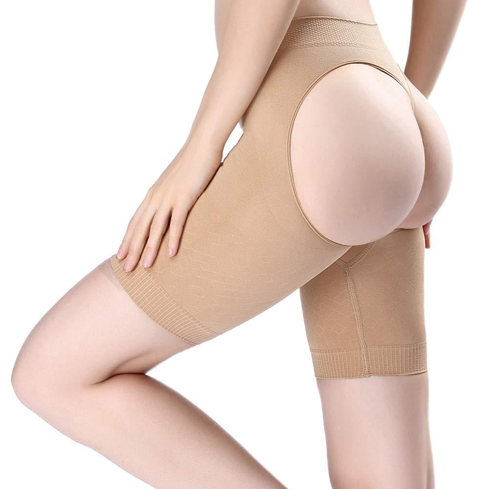 Women's Butt Lifter Shaper Anti-chafing Thigh Bands Seamless Tummy Control Hi-Waist Thigh Slimmer A695