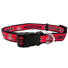 Pets First Collegiate University of Arizona Wildcats Pet Collar, Small