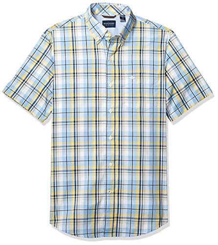- Dockers Men's Short Sleeve Button Down Comfort Flex Shirt, Della Robbia, L