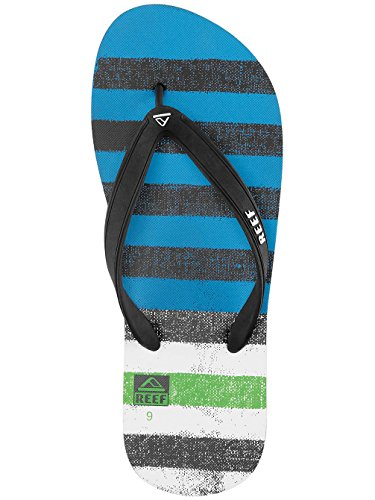 Reef Switchfoot Prints, Infradito Uomo Multicolor (Blue / Green)
