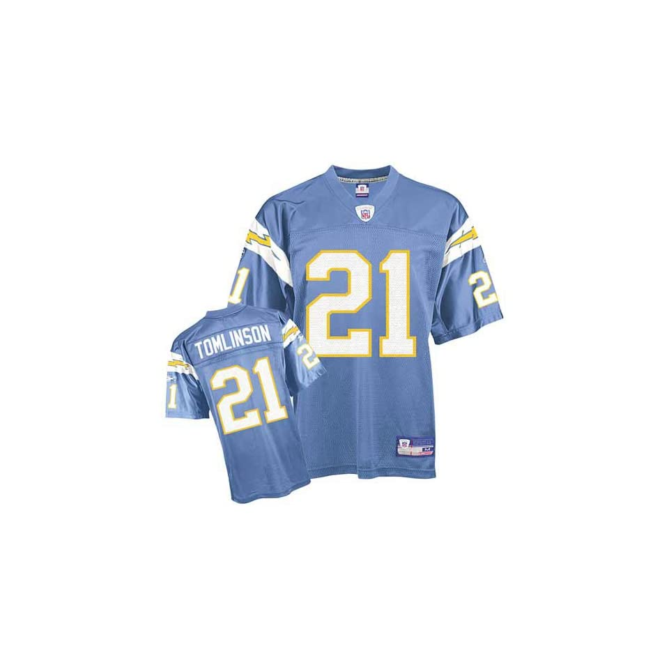 LaDainian Tomlinson #21 San Diego Chargers NFL Replica Player Jersey By Reebok (Alternate Color)(2006)
