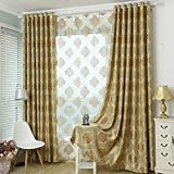 Thickened Curtains Finished Modern Minimalist European 3 m high Shading Visor Floor to Ceiling Living Room Bedroom Study (Size : 2.5 * 3m)