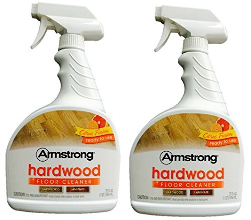 (Armstrong Hardwood and Laminate Floor Cleaner 32 oz Citrus Fusion 946 mL (Pack of 2))