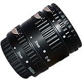 Tubo di prolunga automatico per Canon EOS EF/AF - Set di tre tubi di prolunga Auto Focus: 13 mm, 21 mm, 31 mm - per Canon EOS 1000D 550D 500D 600D 450D 400D 350D 300D 60D 50D 40D 30D 20D 10D 7D 5D 5D Mark II 1D 1Ds 1D Mark II 1Ds Mark II 1D Mark II N 1D Mark III 1Ds Mark III etc.