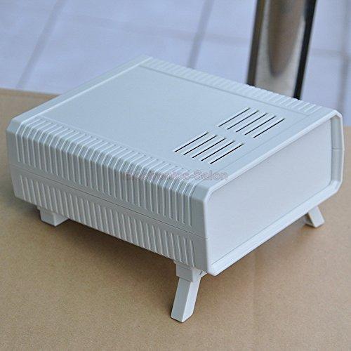 Electronics-Salon HQ Instrumentation ABS Project Enclosure Box Case, White, 140x170x60mm.
