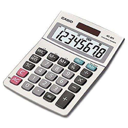 Casio MS-80S Standard Function Desktop Calculator Pack of 3 by Casio