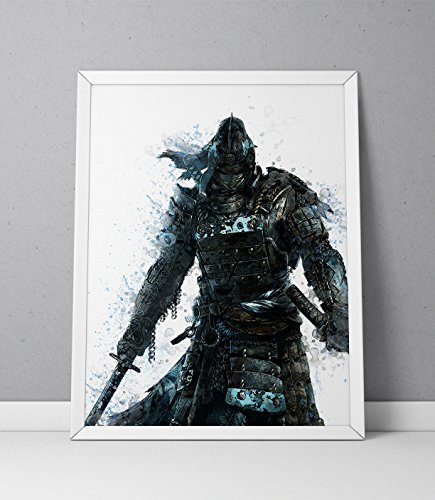 For Honor print, Samurai print, For Honor poster, Samurai poster, The Chosen game poster,
