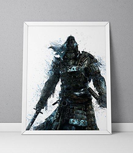 For Honor print, Samurai print, For Honor poster, Samurai poster, The Chosen game poster,