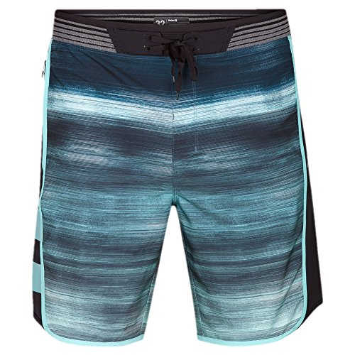 Hurley Men's Phantom Hyperweave Motion Fast Boardshorts, Aurora Green, 34 by Hurley