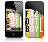 Zing Revolution MS-FOB20133 Fall Out Boy-Logo Cell Phone Cover Skin for iPhone 4/4S