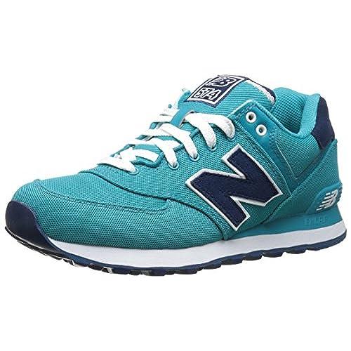 New Balance WL574SWB B - Zapatillas para Mujer, Azul (Turquoise), 37.5 EU