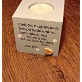 Personalised Candle For Nana ~ Nanny ~ Grandma ~ Nanna ~ Gran any name you want by shabby chic personalised ltd