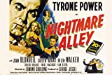 NIGHTMARE ALLEY film noir movie POSTER joan BLONDELL tyrone POWER 24X36 (reproduction, not an original)