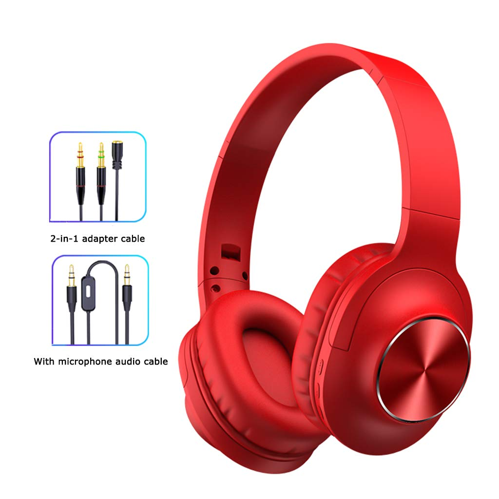 Qks Wireless Headphones Bluetooth 5.0 Subwoofer Sports Running Music Card Phone Computer All Inclusive Ears Can Answer Calls