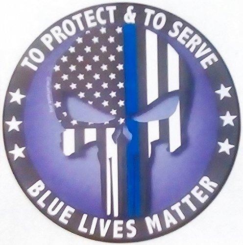 Navy Blue Car Flag - 4