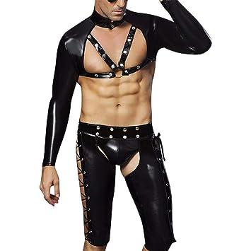 Hombre Sexy Sm Gays Cosplay Striptease policía ropa interior ...
