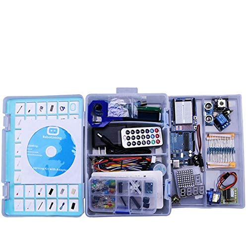 Electronic DIY Kit for arduino Uno R3 Basic Learning Suite with PDF LCD1602// Server Stepper Motor