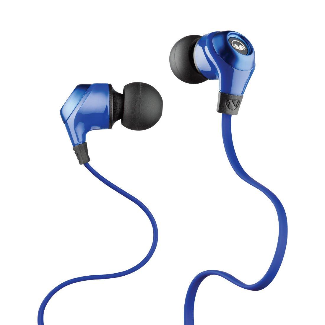 Monster Mobile Talk In-Ear Headphones, Cobalt Blue