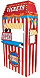 Carnival Games Party Supplies Room Decoration - Ticket Booth Cardboard...