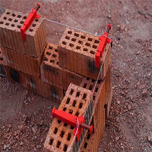 Juego de Herramientas de medici/ón para ingenier/ía de alba/ñil Helmay Brick Liner Runner Brick Leveling