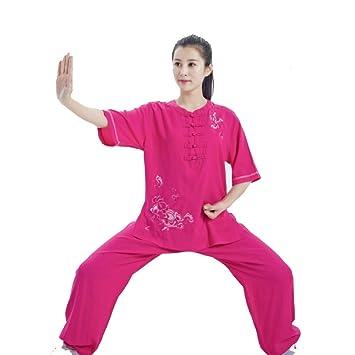 AZWE Uniformes tradicionales chinos de Tai Chi Kung Fu Ropa de ...
