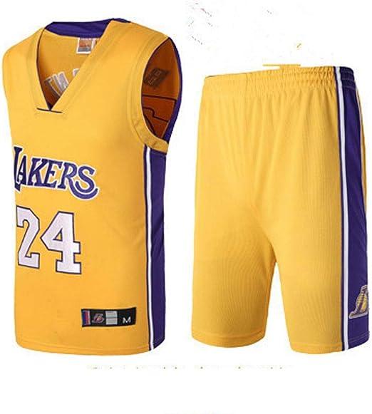 CYY NBA Lakers Kobe 24th, Lakers de Cuello Redondo Kobe Bryant 24 ...