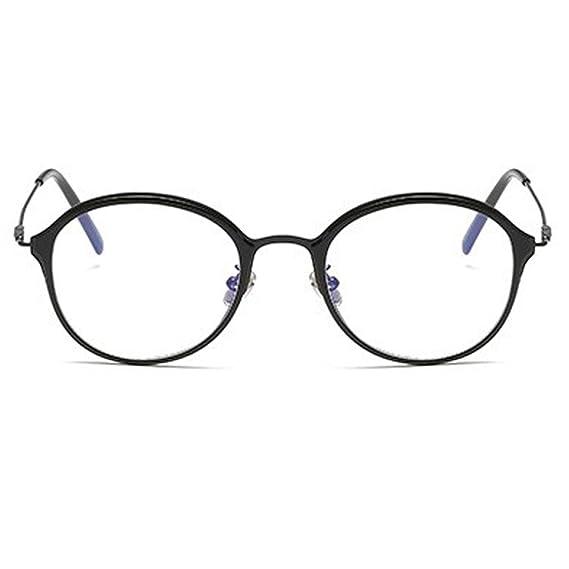 f25c5e1118 RazMaz Brand Round Light Frame Clear Vintage Men Women reading Eye-Glasses  spectacles glass lens