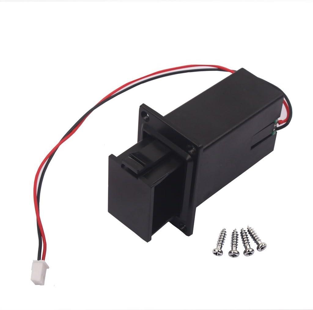 Ogquaton Soporte de Tapa de Caja de batería de 9V Negro para ...
