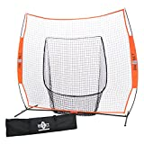 Bownet 7' x 7' Big Mouth - The Original and Most Used Portable Sock Net for Baseball and Softball Hitting and Pitching offers