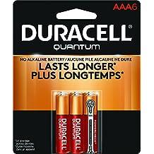 Duracell Quantum Alkaline AAA Batteries, 6-Count