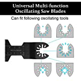 20 Pcs Metal Wood Oscillating Multitool Quick