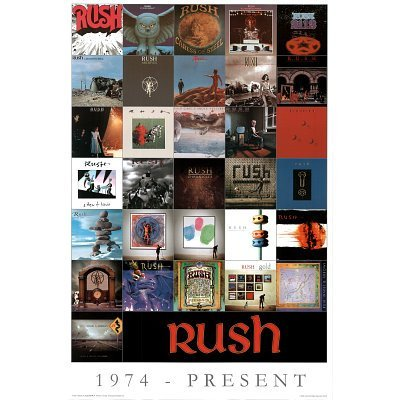 Rush Album Covers Music Poster Print