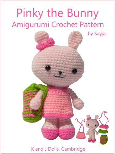 Pinky the Bunny Amigurumi Crochet Pattern