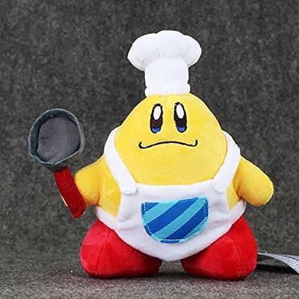 Amazon.com: Anime japonés Kirby de peluche kawaii Cook Kirby ...