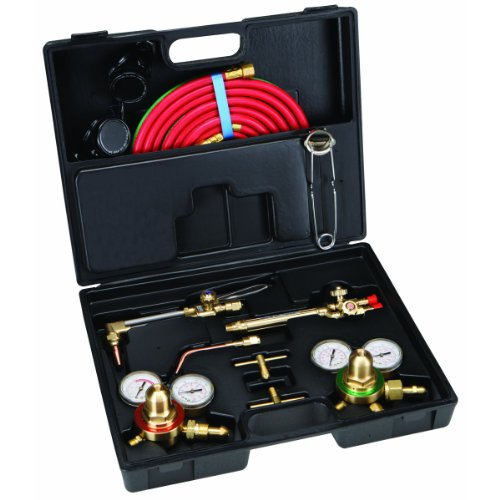 Oxy Acetylene Gas Welding Cutting Torch Kit Victor Type Professional Set