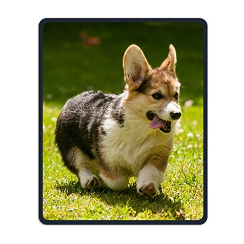 Pembroke Welsh Corgi Puppy Design Mouse Pad Waterproof Mousepads With Non-Slip Rubber Base For Office Gaming Study Mouse Pad For Men And Women