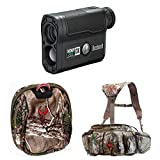 Badlands Monster Camo Hunting Fanny Pack w. Bushnell Laser Rangefinder 202355 & Rangefinder Case, Realtree