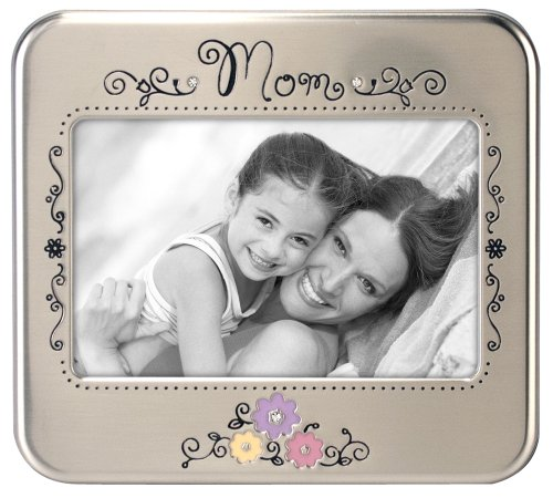 Malden International Designs Serendipity Metals Mom Picture Frame, 4 by 6-Inch by Malden International Designs