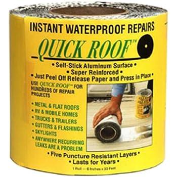 """Cofair QR6 Aluminum 6""""X33.5' Quick Roof Tape"""