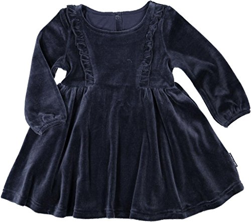 Polarn O. Pyret Holiday Velour Dress (Baby) - 1-1.5 Years/Dark Sapphire ()