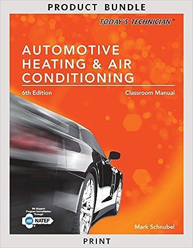 Mark Schnubel] ☆ Bundle: Today\'s Technician: Automotive Heating ...
