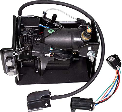 YH New Air Suspension Compressor Pump Fit For Cadillac Escalade Chevy Avalanche Suburban 1500 Tahoe GMC Yukon OEM 19299545 Front Rear ()