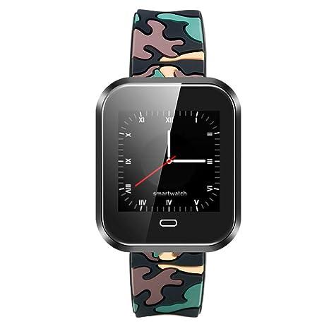 Cebbay Reloj Inteligente Pulsómetro Monitor de sueño,Podómetro Pulsera Actividad Inteligente para Deporte