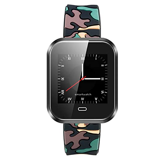 Smart Pulsera Reloj Inteligente Smart Reloj Bluetooth Smart Display Sport Watch Watch Digital Reloj Inteligente y Fitness Reloj Digital multifunción panpany ...