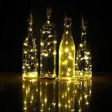 iMazer Wine Bottle Cork Lights, Rechargeable USB