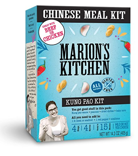Kung Pao Meal Kit by Marion's Kitchen, 5 Pack, Quick, Easy & All Natural Chinese Home Cooking (Best Kung Pao Sauce)