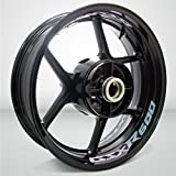 Motorcycle Inner Rim Tape Sticker Decal for