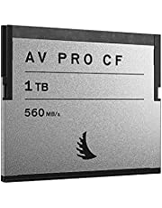 Angelbird AV PRO CF 1TB Memory Card, 550MB/s Read and 450MB/s Write Speed